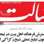 مصاحبه روزنامه رسالت با استاد موسوی