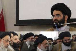 حضور در جمع اساتید و طلاب حوزه علمیه قائم چیذر