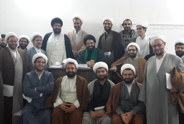 برگزاری کارگاه پژوهش برای فضلای استان کاشان توسط استاد موسوی